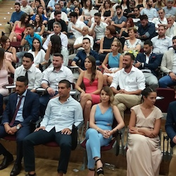 Graduation ceremony, 21 July 2017